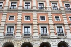Bibliothek von Olivenölseifen-La Mancha in Toledo, Spanien Stockfotos