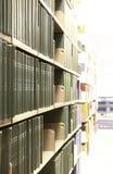 Bibliotheks-Bücher Lizenzfreie Stockbilder