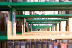 Bibliotheks-Innenraum stockfotografie