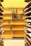 Bibliotheks-Innenraum stockbilder