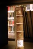 Bibliotheksbücher stockfoto