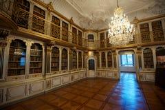 Bibliotheksraum des Rosenborg-Schlosses Lizenzfreies Stockbild