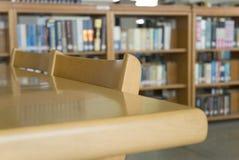 Bibliotheksstuhl Stockfotos