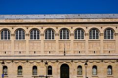 bibliotheque genevieve巴黎圣徒 免版税库存图片