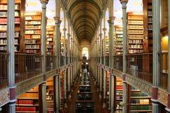 Bibliothèque d'université de Copenhague   Image stock