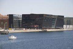 Bibliothèque danoise royale - diamant noir Image libre de droits
