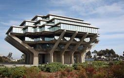 Bibliothèque de Geisel chez Uc San Diego Image stock