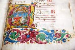 Bibliothèque de Piccolomini, Sienne, Toscane, Italie Photographie stock libre de droits
