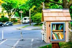 Bibliothèque de voisinage Image libre de droits