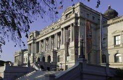 Bibliothèque du Congrès, Washington, C.C Images libres de droits