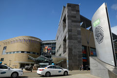 Bibliothèque nationale Photo libre de droits
