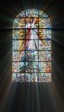 Biblisches Buntglas Lizenzfreies Stockbild