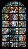 Biblisk målat glass Fotografering för Bildbyråer
