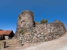 Bibola castle, Lunigiana, Italy. Royalty Free Stock Photography
