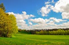 Bibury äng, England Royaltyfri Bild
