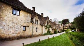 bibury χωριό της Αγγλίας cotswold Στοκ Εικόνες