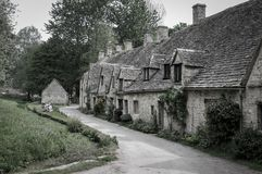 Bibury i Gloucestershire royaltyfria foton