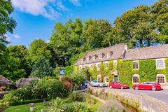 Bibury town in Cotswolds Royalty Free Stock Images
