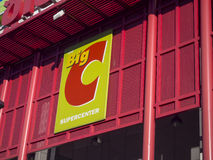 BIC C Supercenter outdoor sign over the Shop Royalty Free Stock Photography