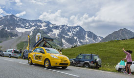 Bic-medel - Tour de France 2014 Royaltyfria Bilder