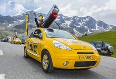 Bic-medel - Tour de France 2014 Royaltyfri Fotografi