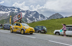 BIC Vehicle - Tour de France 2014 Stock Photos