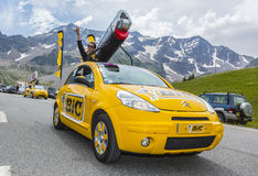BIC Vehicle - Tour de France 2014 Royalty Free Stock Photography