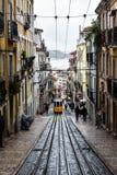 Bica di Elevador da a Lisbona Fotografia Stock Libera da Diritti