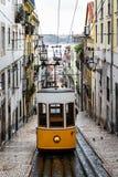 Bica di Elevador da a Lisbona Fotografia Stock