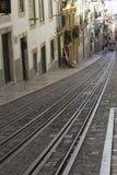 Bica funicular in Lisbon Stock Photos