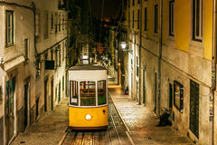 The Bica Funicular Stock Images