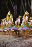 Bicakleuren, Buurt Populaire Parade, de Festiviteiten van Lissabon Royalty-vrije Stock Foto's