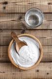 Bicarbonate de soude image libre de droits
