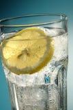 Bicarbonate de soude de citron images stock