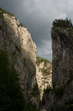 Bicaz canyon Royalty Free Stock Photos