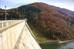 Bicaz Dam Stock Photo