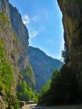 Bicaz kanjon royaltyfria foton