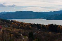 Bicaz lake, autumn Stock Photo