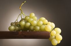 bicchiere联系人di uva酒 库存图片
