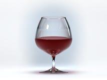 Bicchiere di vino Royalty Illustrazione gratis