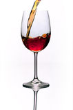Bicchiere di vino Fotografia Stock Libera da Diritti