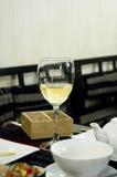 Bicchiere di vino ancora vita Fotografie Stock Libere da Diritti