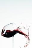 Bicchiere di vino rotto Fotografia Stock Libera da Diritti