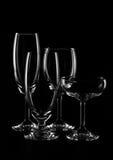 Bicchieri di vino Immagine Stock