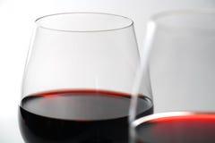 Bicchieri di vino Fotografie Stock Libere da Diritti
