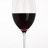 Bicchieri di vino con vino rosso Fotografie Stock