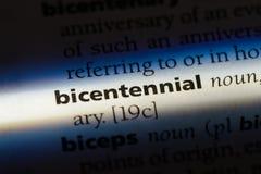 bicentenaire photos stock