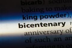 bicentenaire photographie stock