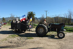 Bicentenario de Chile. Foto de archivo libre de regalías