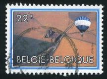 Bicentenario del vuelo servido imagen de archivo
